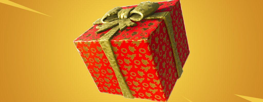 Geschenke sind nun in Fortnite – So findet und nutzt Ihr sie