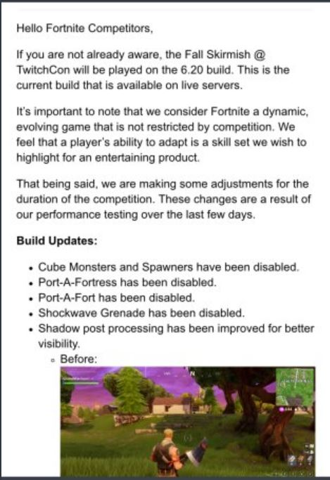 Fortnite-Statement