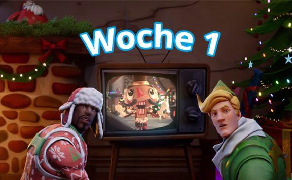Fortnite Woche 1 Season 7 Titel