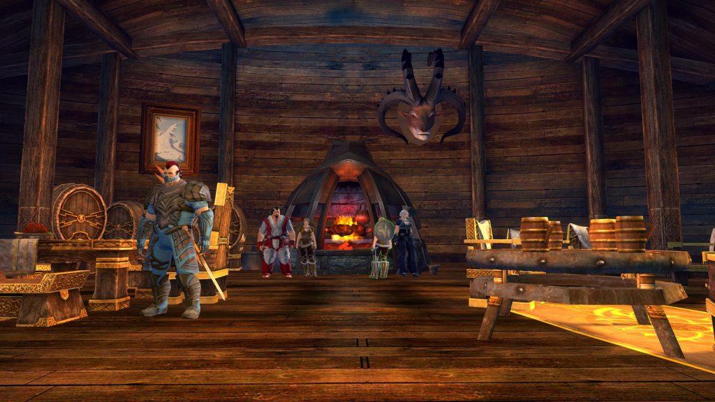 Guild Wars 2 Kevachs Gehöft von innen