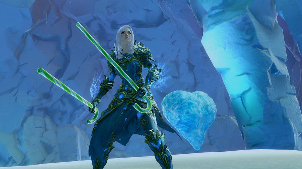 Guild Wars 2 Wintertag gefrorenes Herz