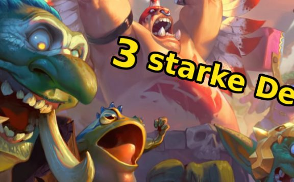 Hearthstone 3 Decks title