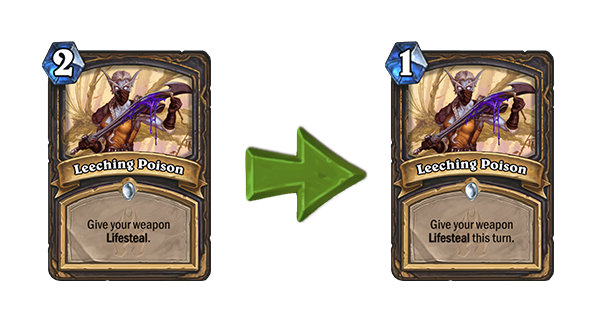 Hearthstone Nerf Leeching Poison