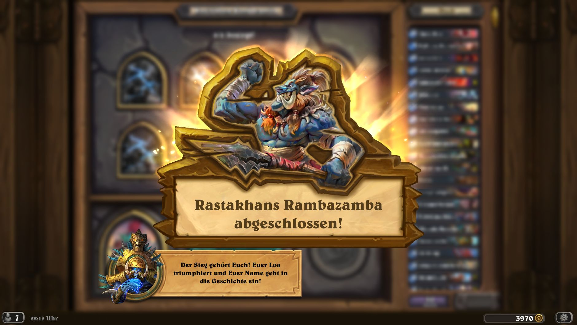 Hearthstone Rambazamba Screenshot 2
