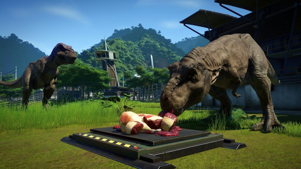 Jurassic World Evolution Dino Screenshot