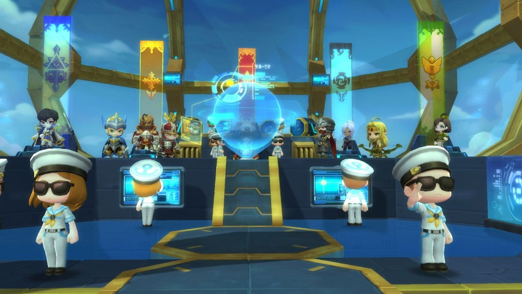 MapleStory 2 First Expansion Already Released - A Sky Fortress