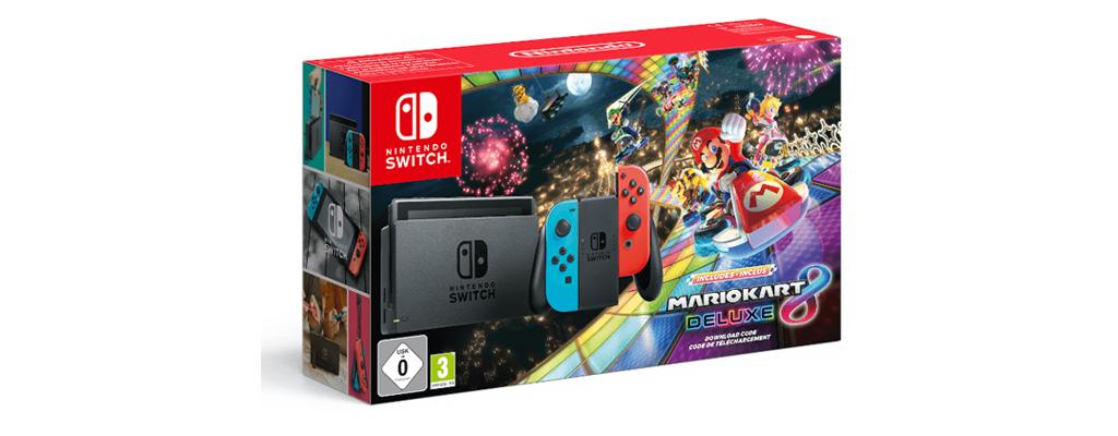 Nintendo Switch und Mario Kart für 299 Euro bei MediaMarkt