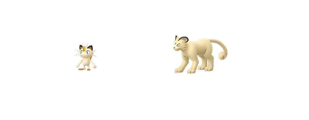 Mauzi und Snobilikat Pokémon GO