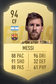 Messi FIFA 19