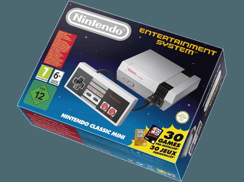 NINTENDO-Classic-Mini -Nintendo-Entertainment-System—NES-Spielkonsole–Grau