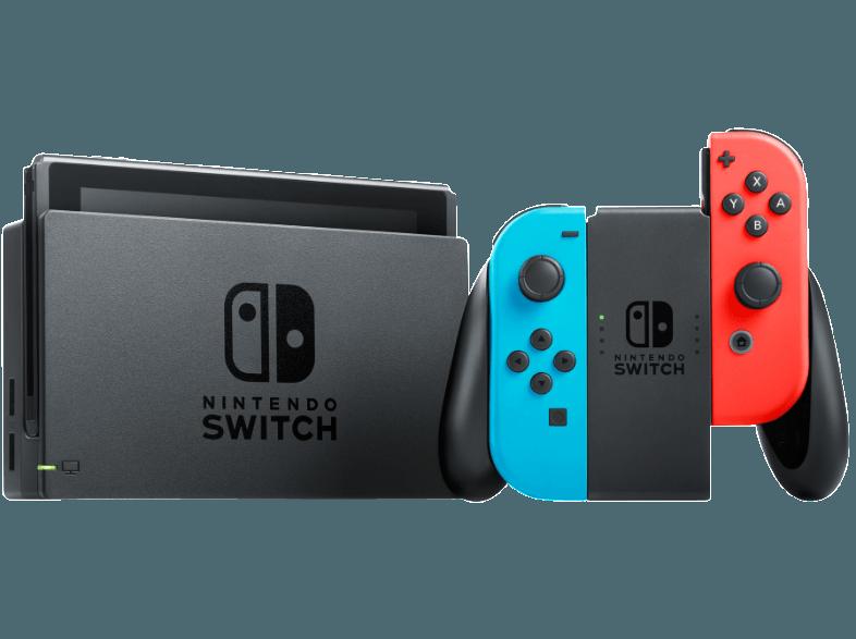 NINTENDO-Switch-Neon-Rot-Neon-Blau-Spielekonsole–Grau–Neon-Rot–Neon-Blau–