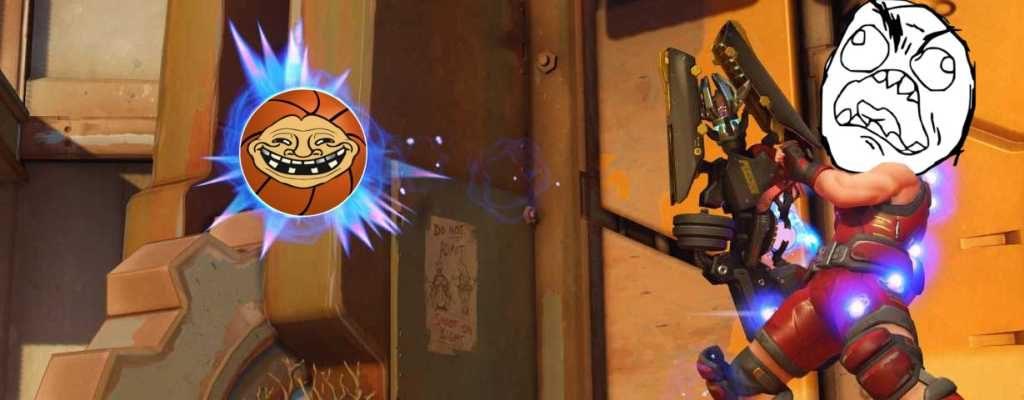 Overwatch Basketball trollt Zaryas Gravitonbombe 2