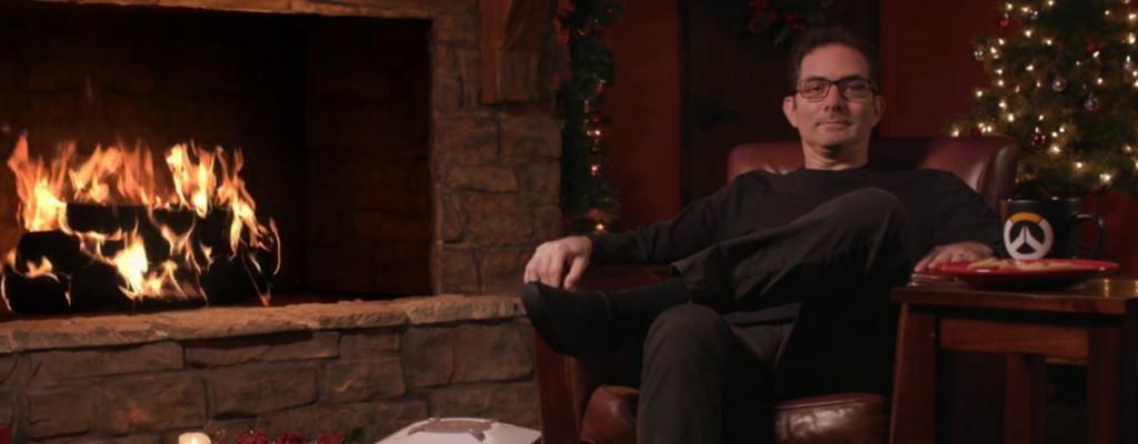 Overwatch: Juhu, wir können Jeff Kaplan wieder vor dem Kamin sehen