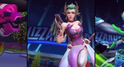 Overwatch Winterwunderland 2018 Skin Titel Mercy Widowmaker Lucio