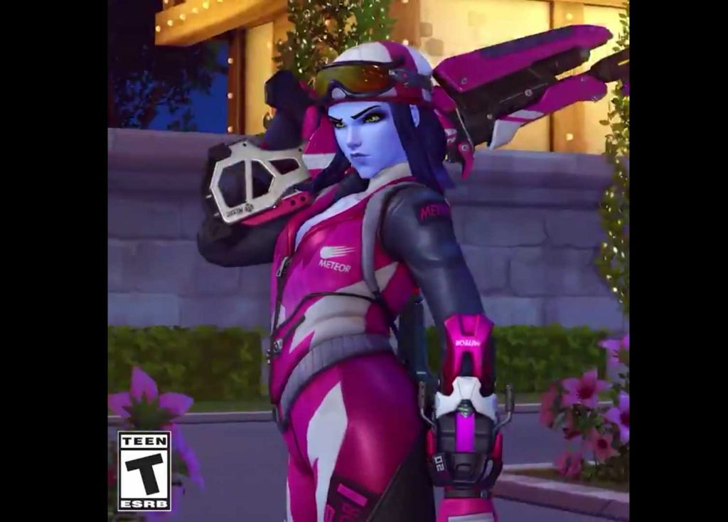 Overwatch Winterwunderland 2018 Skin Widowmaker