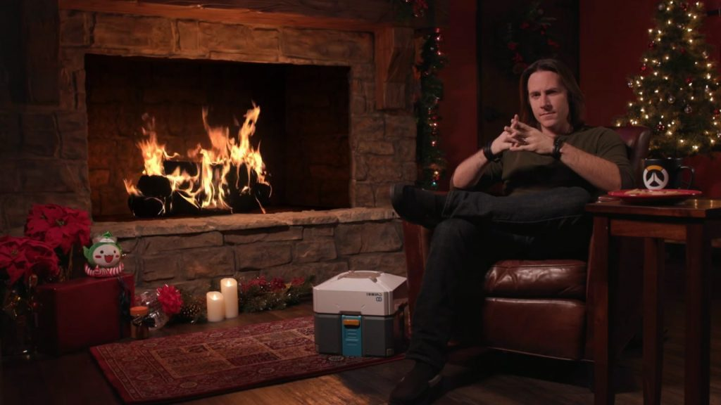 Overwatch Yule Log Matt Mercer