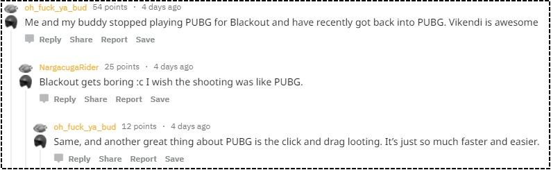 PUBG Reddit Blackout