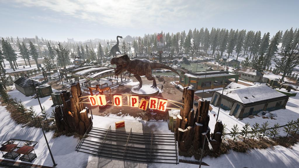 PUBG Vikendi Dino Park