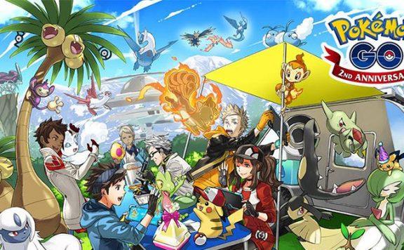 Pokémon GO Geburtstag Titel