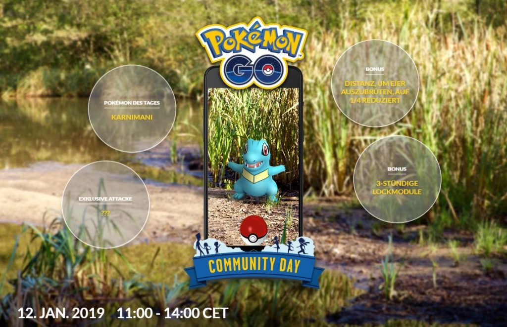 Pokémon GO Karnimani Community Day