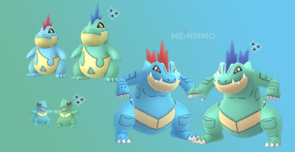 Pokémon GO Karnimani Shiny Familie