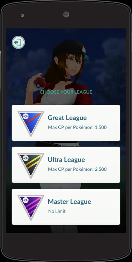 Pokémon GO Ligen WP