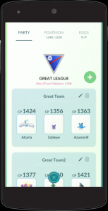 Pokémon GO Super-Liga Team