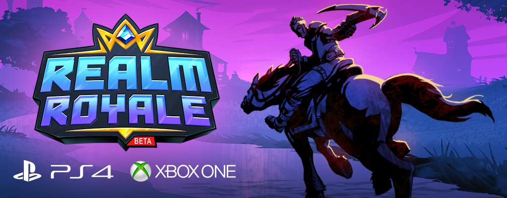 Gewinnt sofort einen Beta-Code für Realm Royale auf PS4 und Xbox