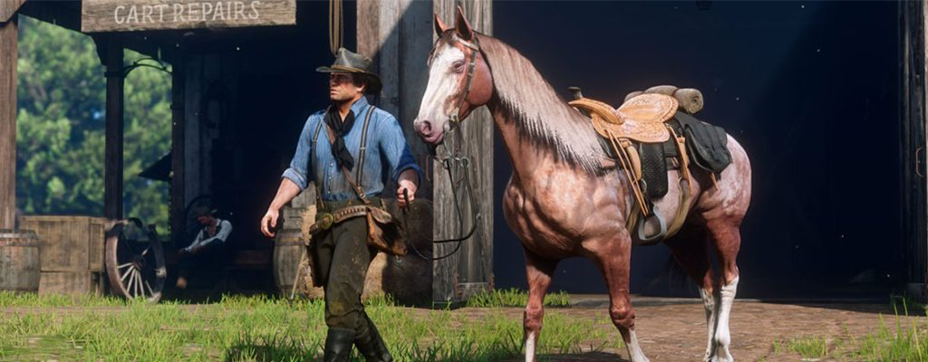 Red Dead Redemption 2 Pferd