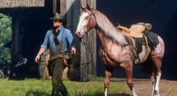 Red Dead Online Pferd