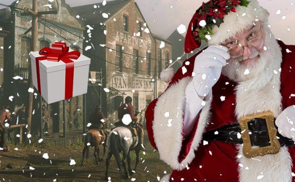 Red Dead Online Santa Titel
