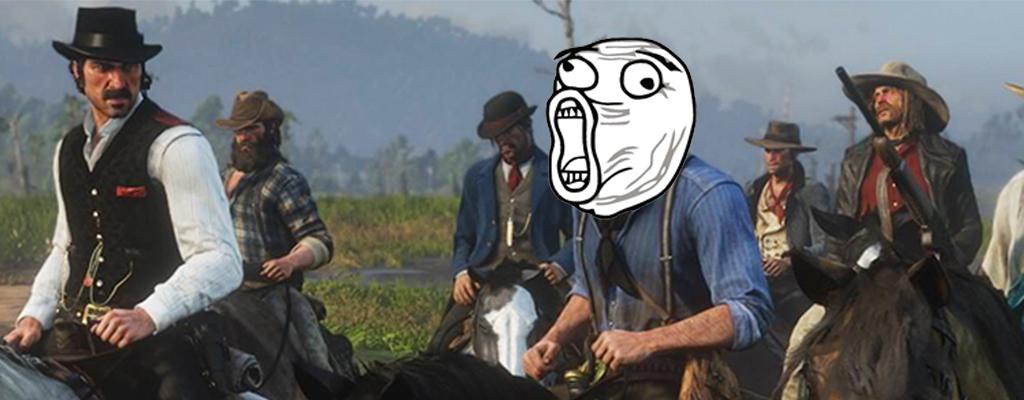 Spieler stolpert versehentlich in die lustigste Cutscene in RDR 2