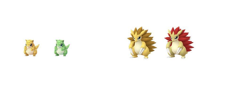 Shiny Sandan Pokémon GO