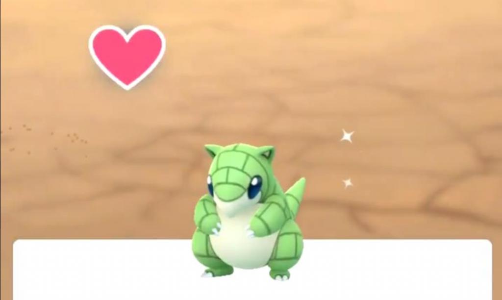 Shiny Sandan Pokémon GO 3