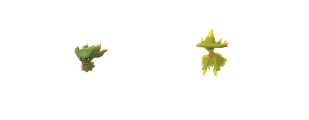 Shiny Traunfugil Pokémon GO 2