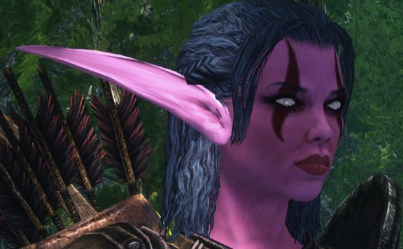 Skyrim Mod Azeroth Night Elf title