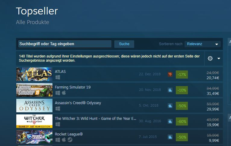 Steam-Top-Seller