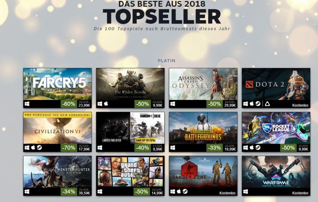 Steam-Topseller