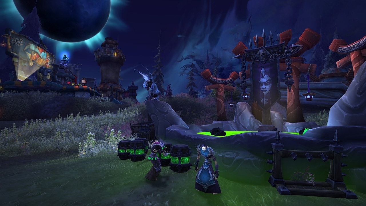 WoW Darkshore Warfront Preview