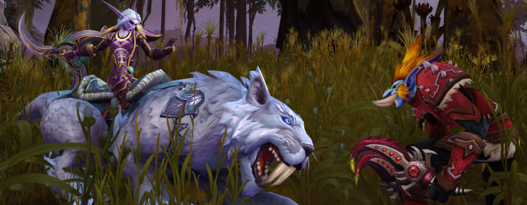 WoW Incursions Night Elf Troll title