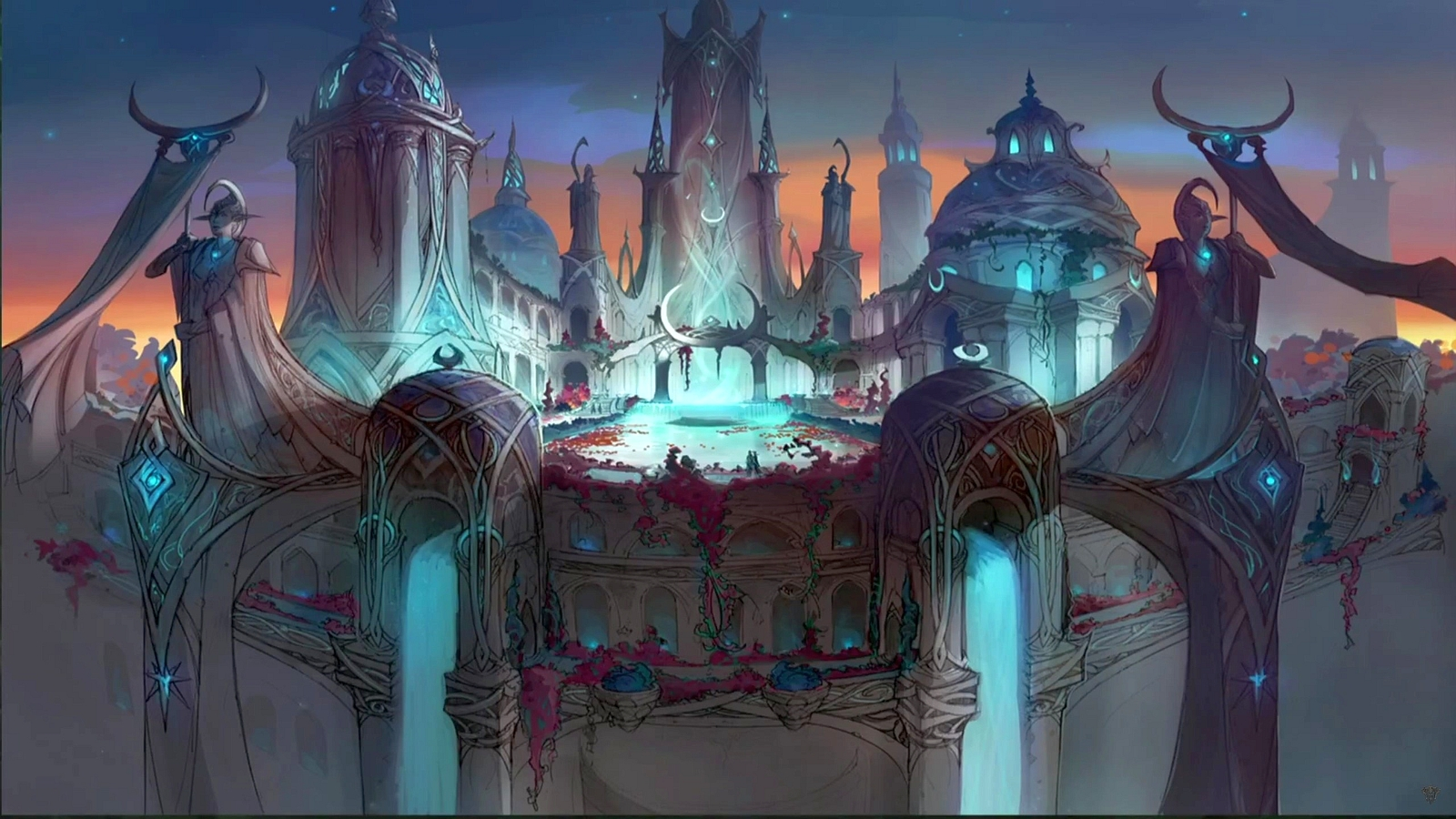 WoW Palast Suramar Nighthold