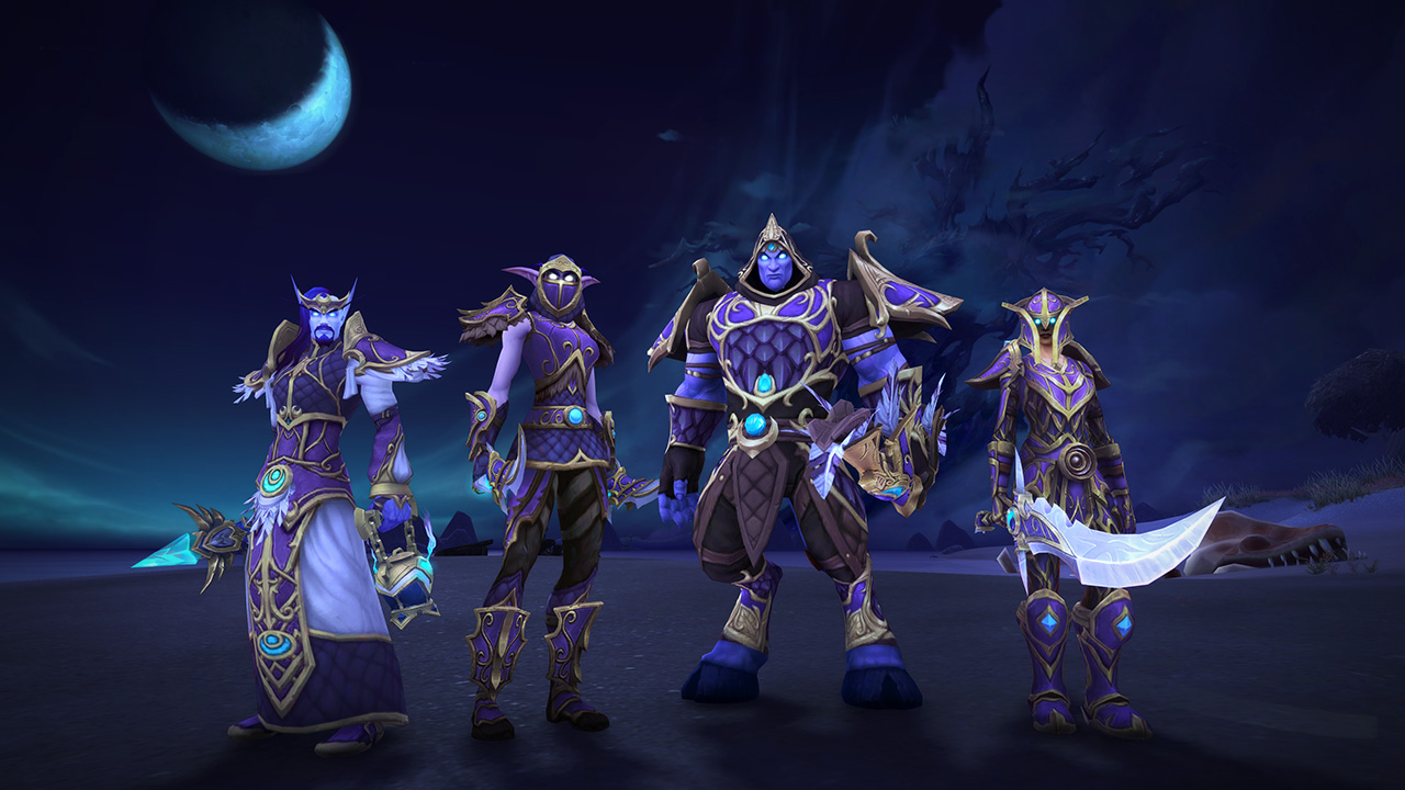 WoW Warfront Alliance Sets