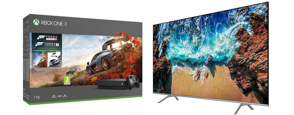 Amazon: Xbox One-Bundles & UHD-TVs von Samsung stark reduziert