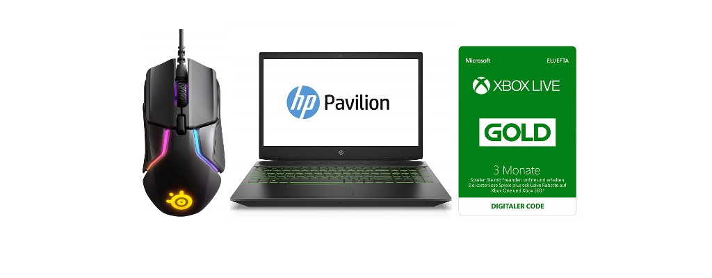 Amazon: SteelSeries-Maus, Gaming-Notebook & Xbox Live Gold reduziert
