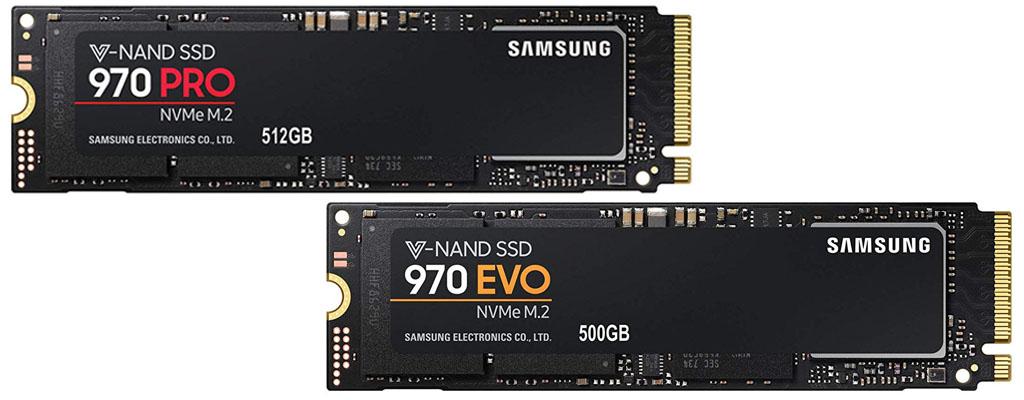 Amazon Angebote: Samsung M.2 SSD 970 EVO und Pro reduziert
