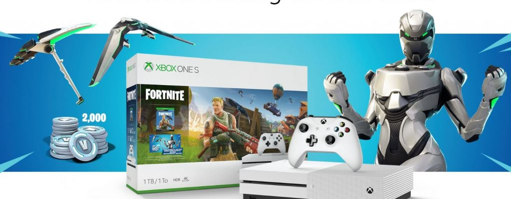 Xbox One S Bundle bei Fortnite: Epic entschädigt alle Käufer