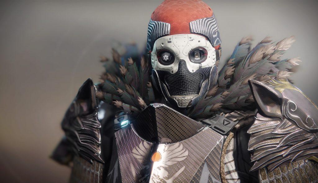 d2 Einäugige maske