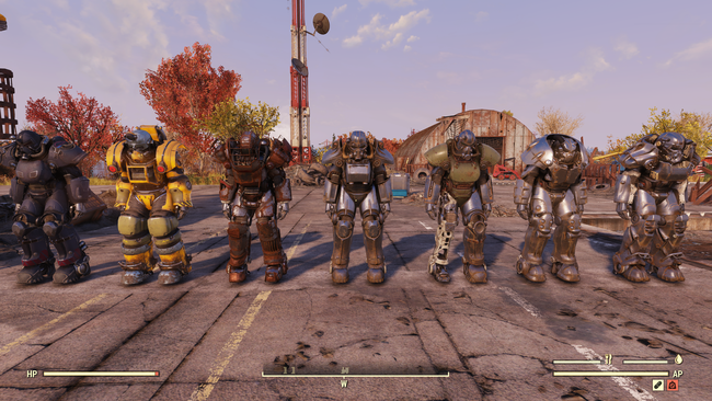 fallout 76 power rüstungen