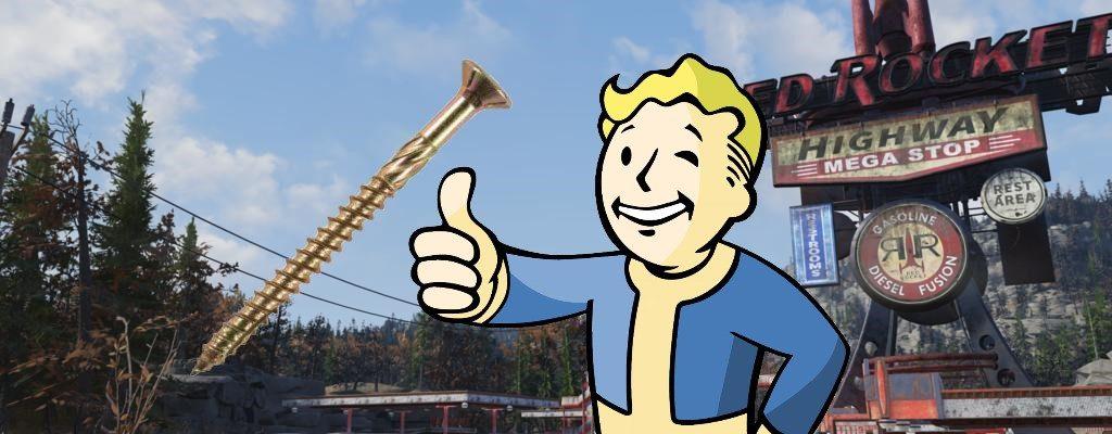 Fallout 76: Schrauben farmen – So findet Ihr das Material