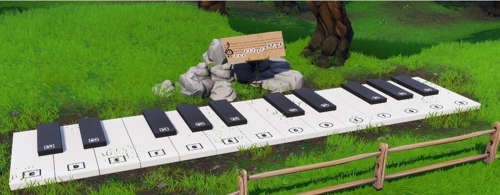 Fortnite: Hier findet ihr das Klavier und Notenblatt für Woche 2 (S7)